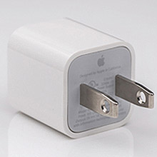 power adapter Apple logo